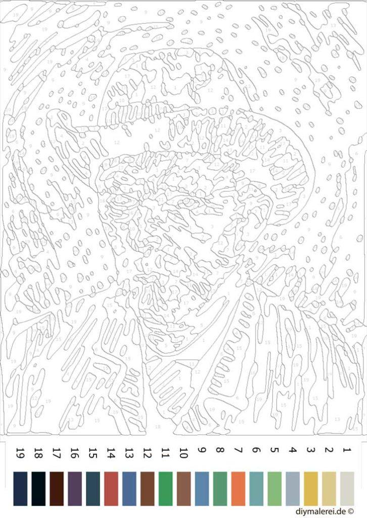 Van Gogh Malen Nach Zahlen Kostenlos Herunterladen